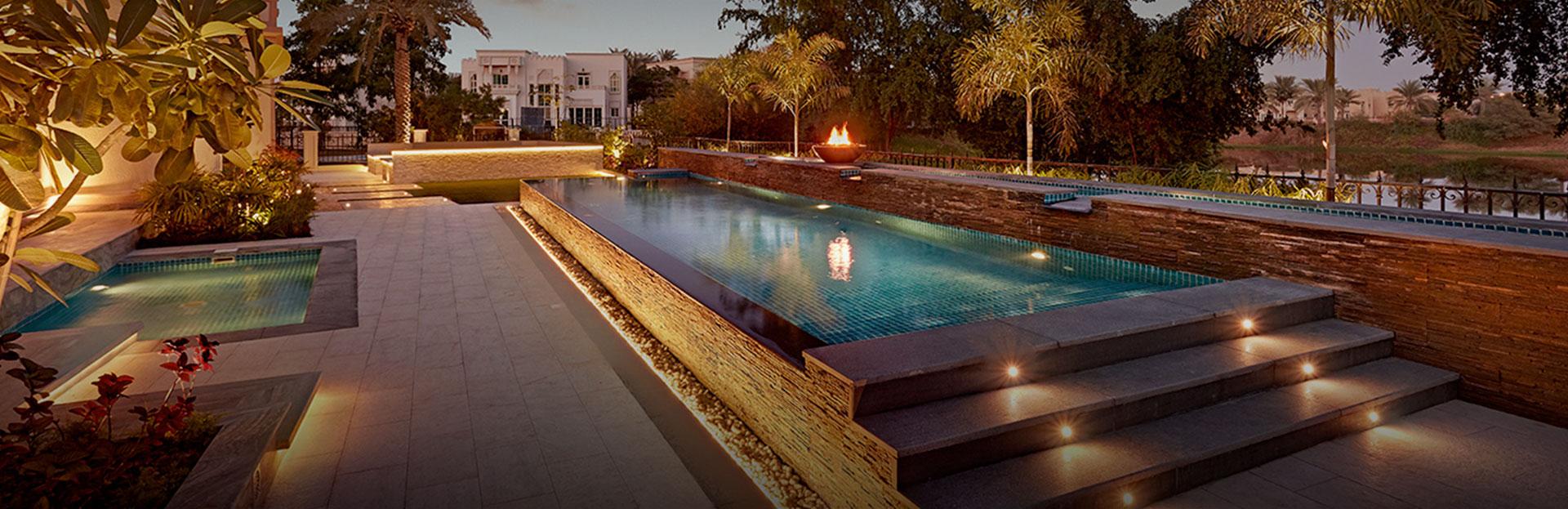 Plunge pool design company dubai for Pool design dubai