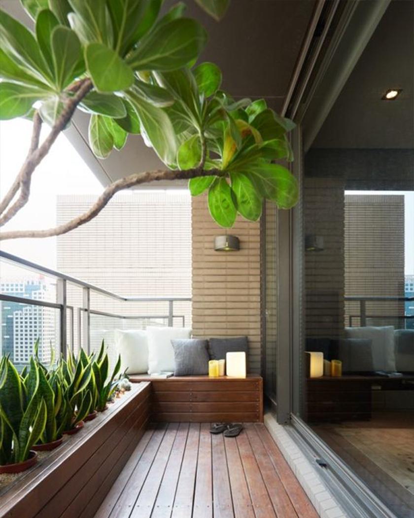 Balcony Wall Garden Ideas 1