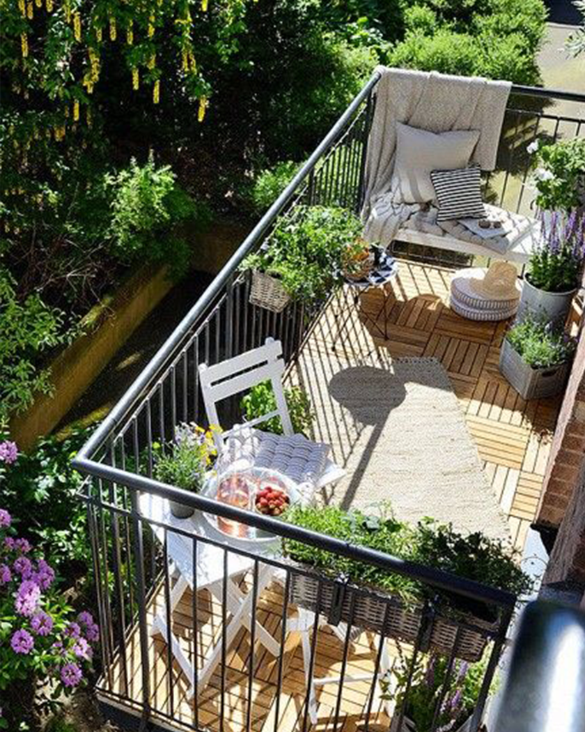 Balcony Garden Ideas to Create a Unique Outdoor Space - Milestone