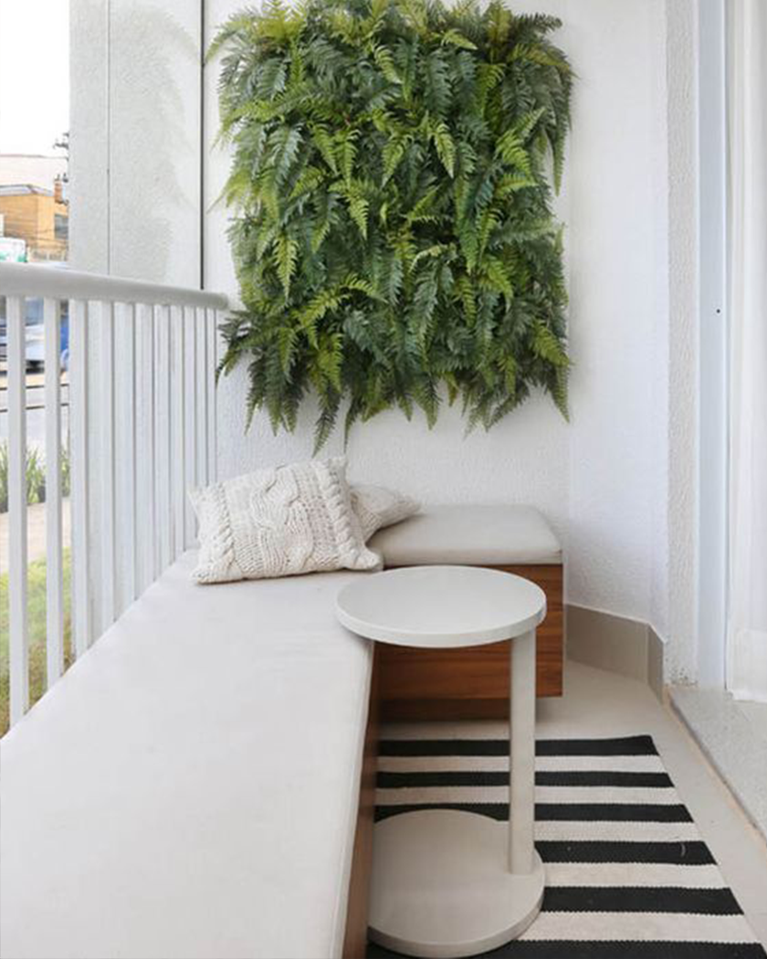 You don't need a giant backyard to create a stunning garden space. A balcony garden will maximise every inch of your terrace to create a stunning outdoor oasis.