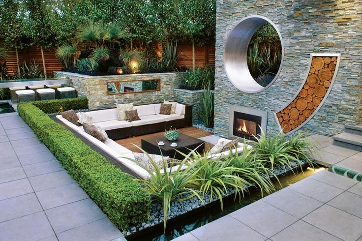 Our home's exterior often gets ignored, as we focus our personal style statements for the interior. Here are great ways to add your modern landscape design to for outside sophisticated style.