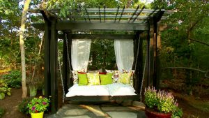 A stunning pergola design will take your backyard to new levels of exciting.