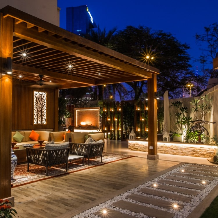 Exterior lighting is the perfect design element to enhance your outdoor space.