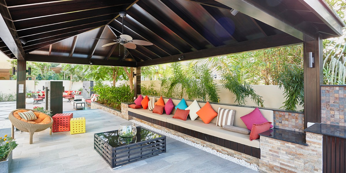 Properly planned seating is essential to the success of any backyard party.